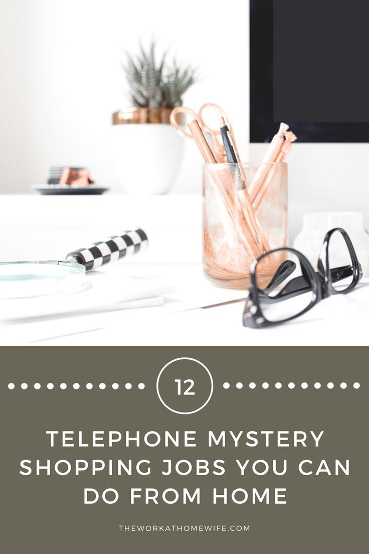 12 Telephone Mystery Shopping Companies: Work from Home as a Mystery ...