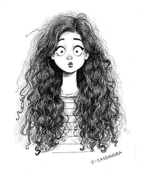 Girl And Hair Image Mia Principessa