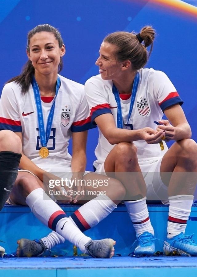 Tobin and Christen | Usa soccer women | Soccer goalie