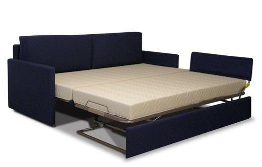 Divano con letto 1 piazza estraibile divano con 2 letti - Divano letto con due letti singoli ...