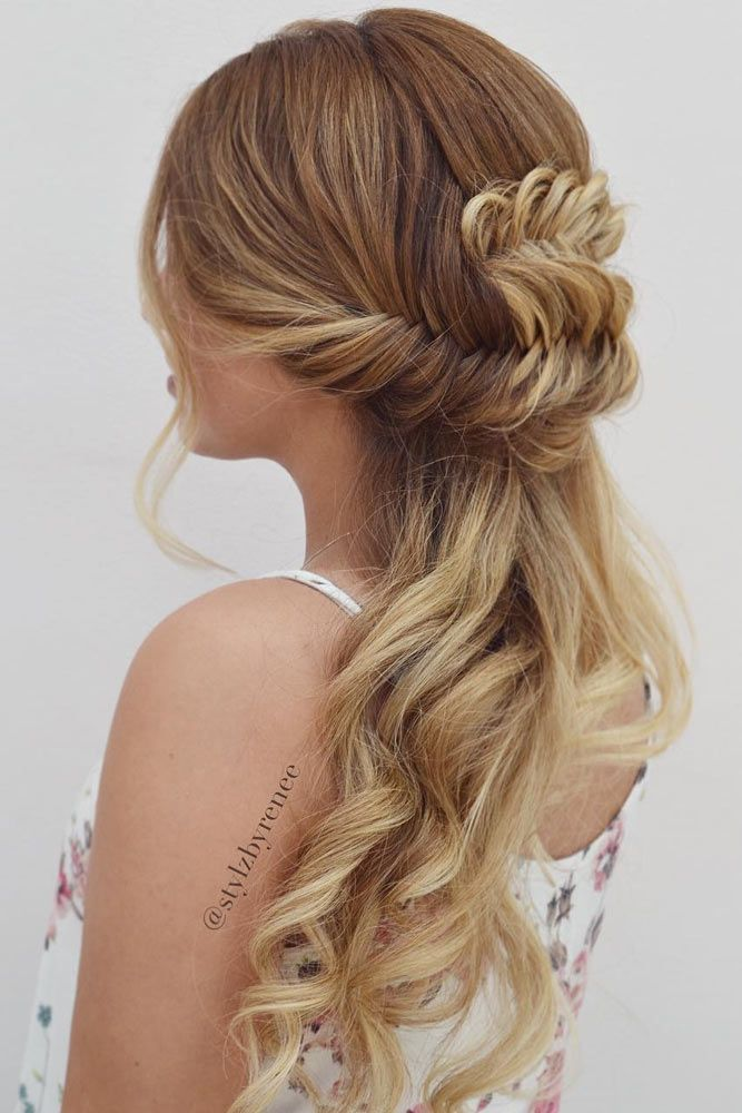42 Everyday Cute Hairstyles For Long Hair Long Hair Styles Hair Styles Dance Hairstyles