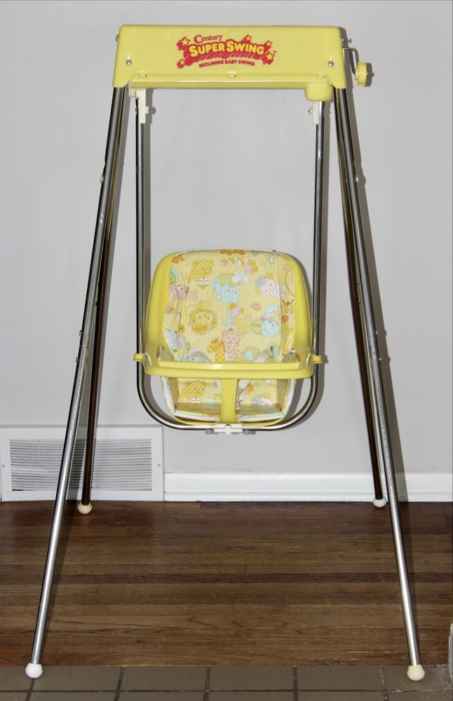Vintage Century Baby Swing Wind Up Excellent Baby Swings