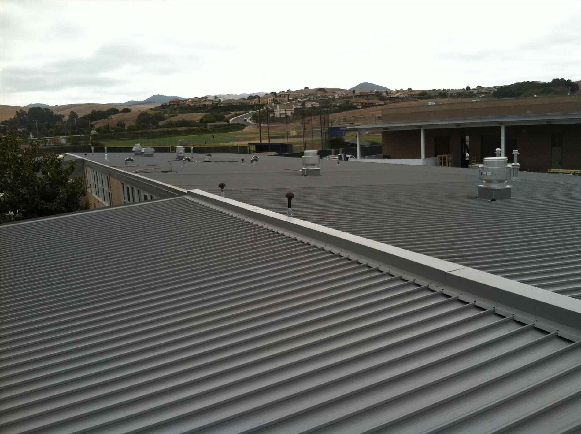 Low Slope Metal Roofing Metal roof, Roof design, Roof panels