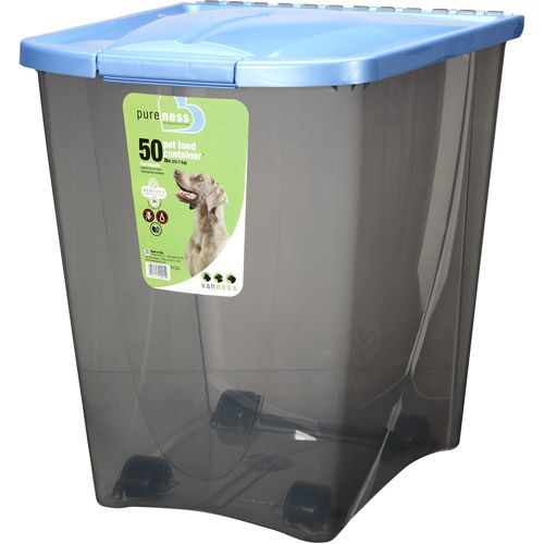 Love This Container On Wheels For Storing Pet Food Bird Seed