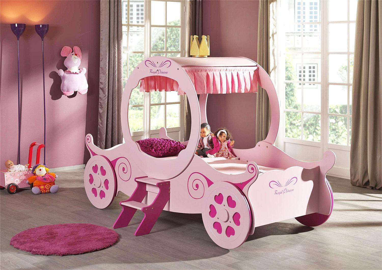 Kinderbett In Form Einer Kutsche Kutschenbett Royal Princess In