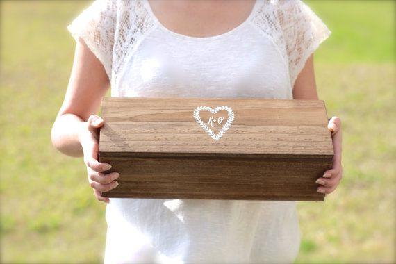 Custom Wedding Wine Box Fight Box Personalized by ThePaperWalrus