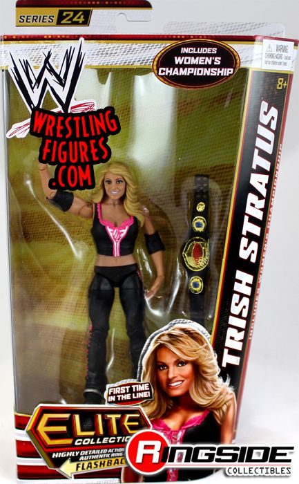 Trish Stratus - WWE Elite 24 | Ringside Collectibles ... Trish Stratus And Jeff Hardy 03.24.2003