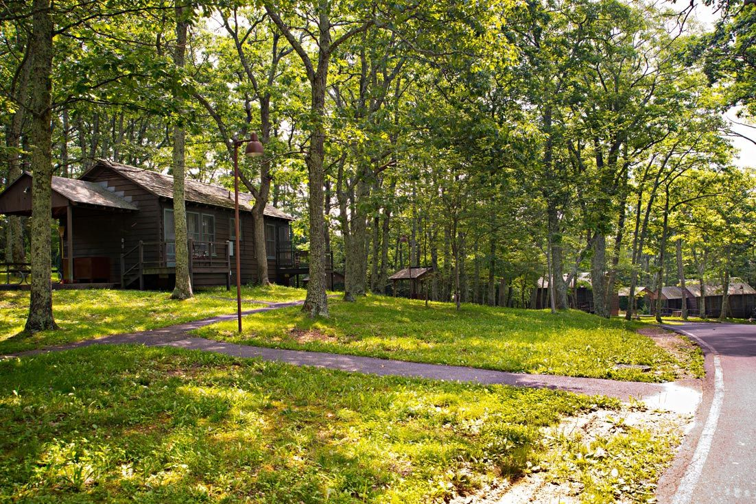 Lewis Mountain Cabins Shenandoah National Park Va Lewis