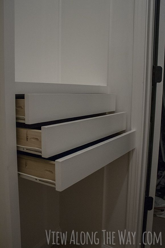 Beautiful Step By Step Instructions To Build DIY Wooden Drawers For Installation In A Custom  Closet.