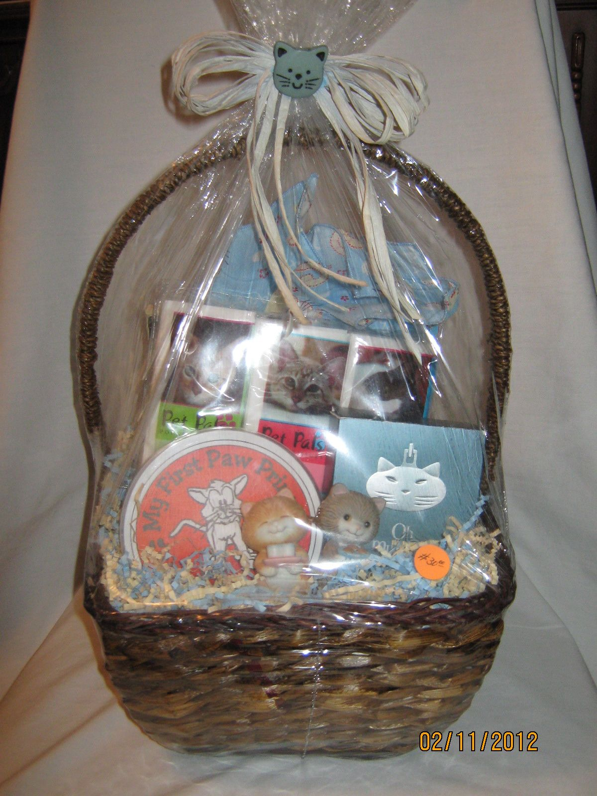 New Kitten Gift Basket Kittens Gifts Gift Baskets Basket