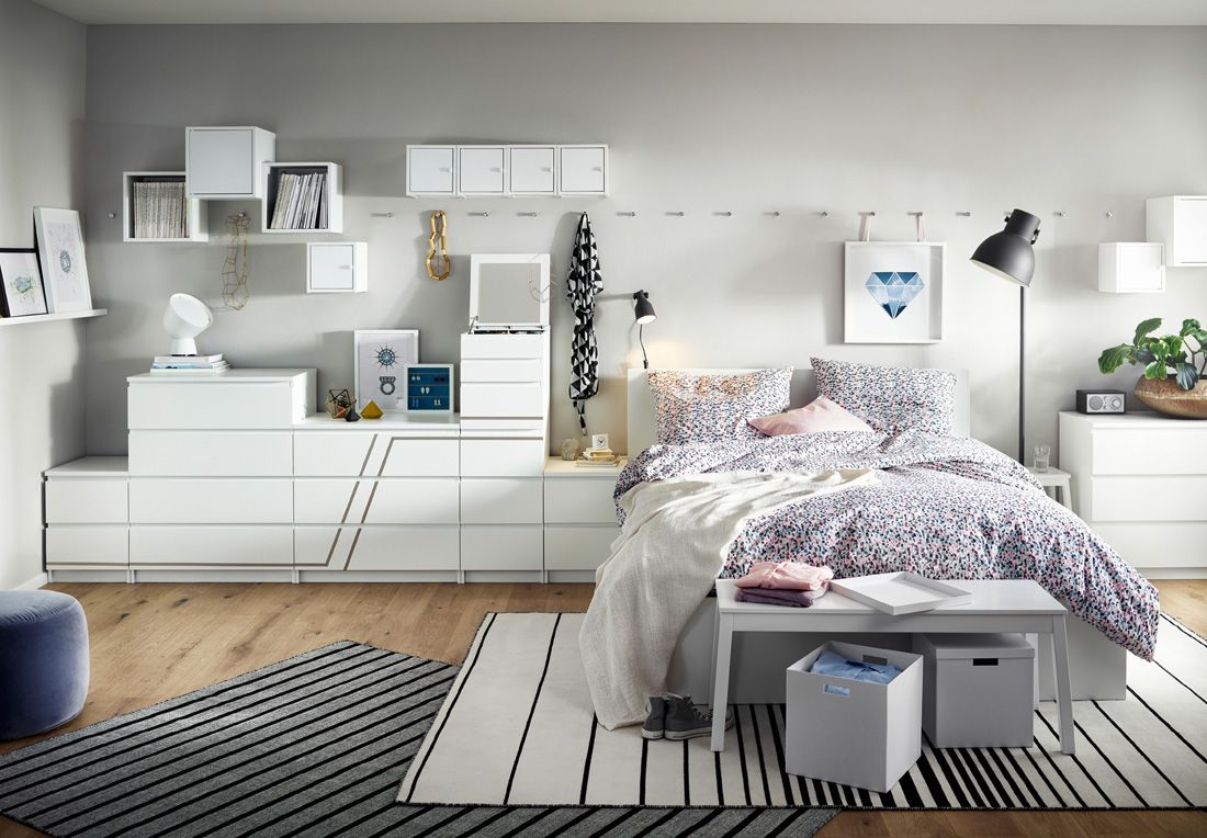 Order In The Bedroom And Wardrobe With Ikea 19 Here The Order