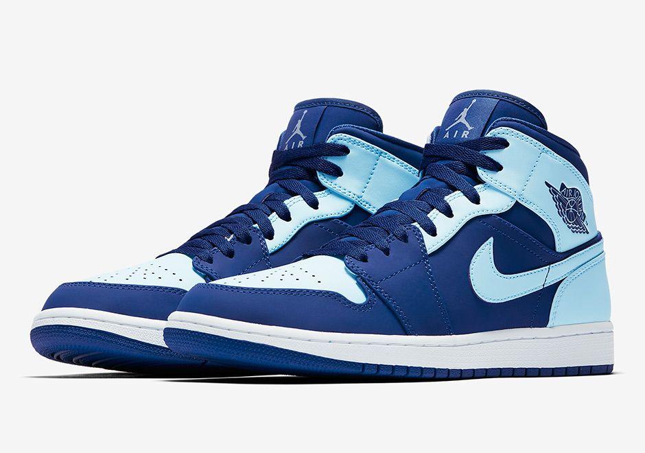 Air Jordan 1 Mid Ice Blue 554724-400 | SneakerNews.com | Sneakers ...