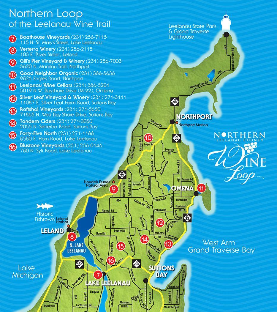 Leelanau Peninsula Wine Trail Leelanau Peninsula Wine Trail Leelanau