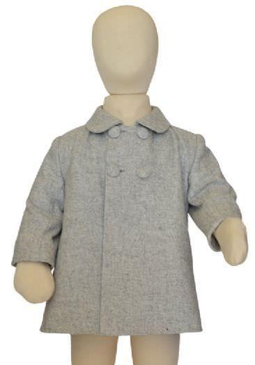 Abrigo de niño hecho a mano de paño ( varios colores)