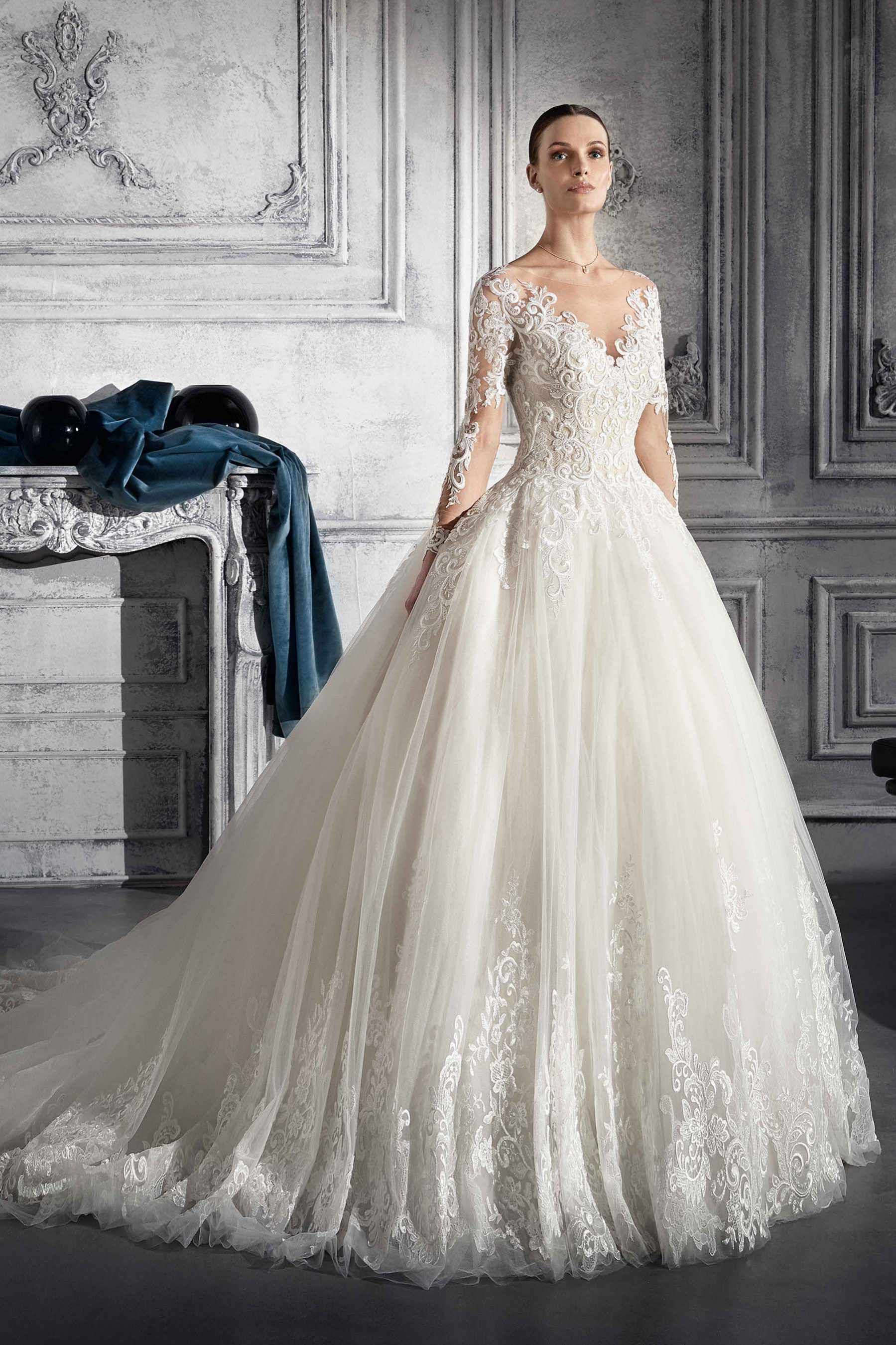 Demetrios Wedding Dress Style 760 The Love Child Of Oldworld Romance And New Age Passion Traditional Silhouette This Ball Gown Es To Life With: New Old Wedding Dresses At Reisefeber.org
