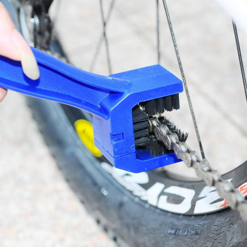 Bike Chain Rim Cleaning Brush Cleaner Motorcycle Bicycle Care Dirt