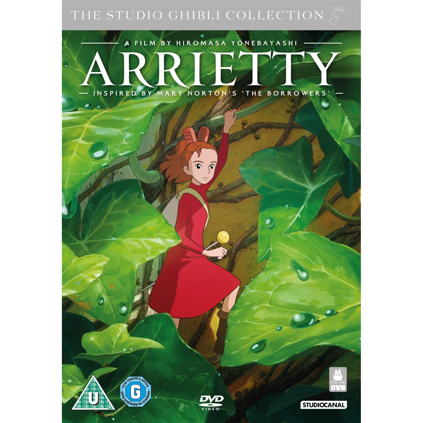 Arrietty Secret world of arrietty, The secret world
