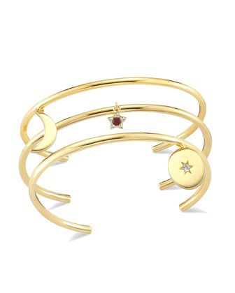 Stellar+Charm+Bangle+Set+by+Elizabeth+and+James+at+Bergdorf+Goodman.