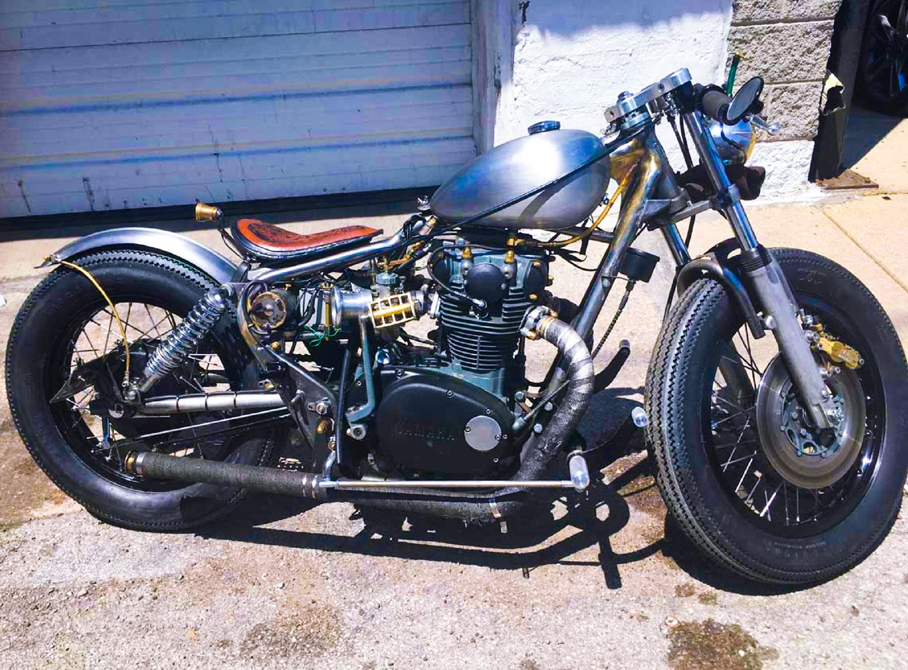 medium resolution of 1976 yamaha xs650 brat style bobber http xs650chopper com 2016