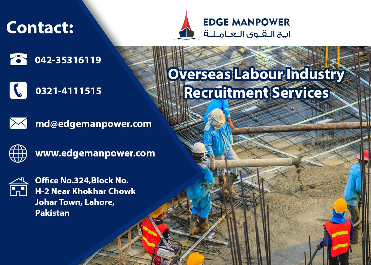 Pin on Overseas Labour Industry Recruitment Services