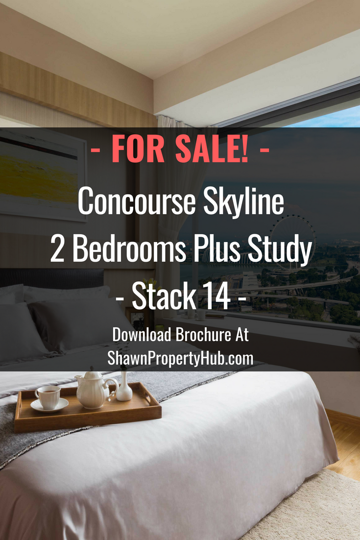 Looking To Purchase This Unit: Concourse Skyline 2 Bedrooms Plus Study Stack 14