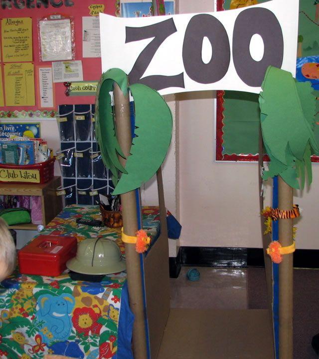 Classroom Zoo Ideas ~ Making a classroom zoo k dramatic play pinterest