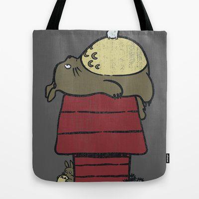 My neighbor Peanut Tote Bag