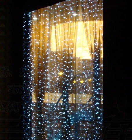 Sparkling Falling Snow Christmas Lights Window Decor | Holiday ...