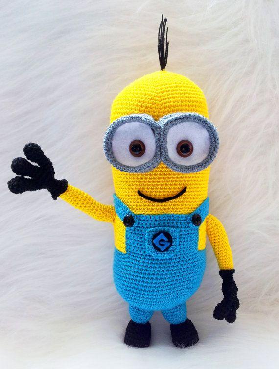Minion Crochet | Crochet | Pinterest | Tejido, Ganchillo y Muñecas