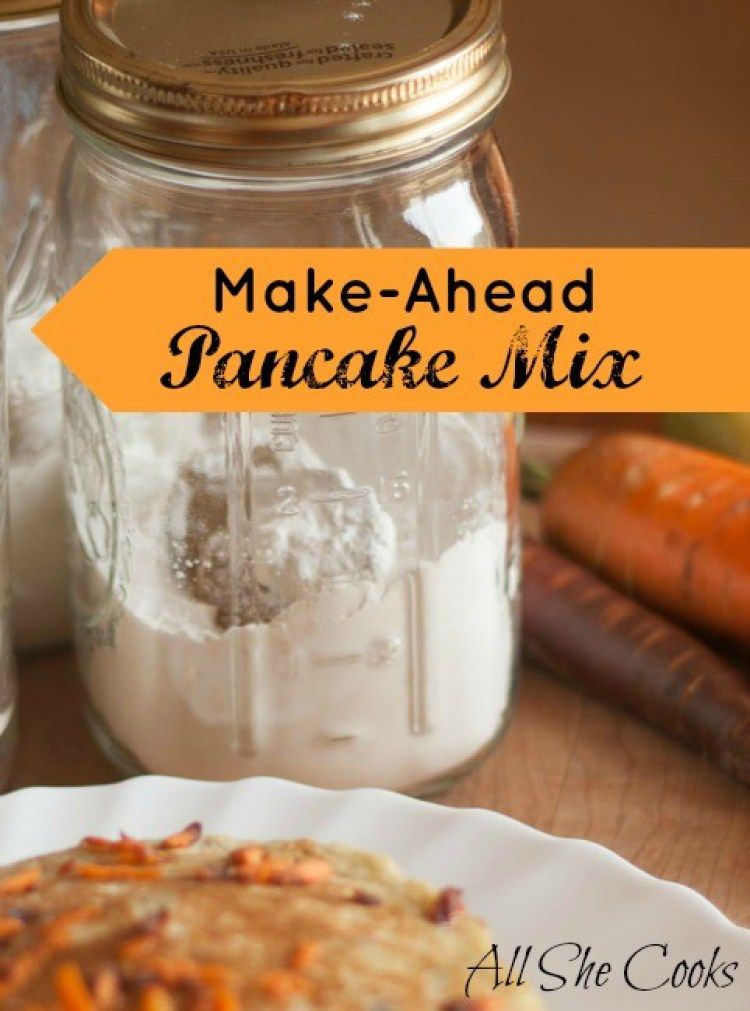 how to make pancake mix from scratch