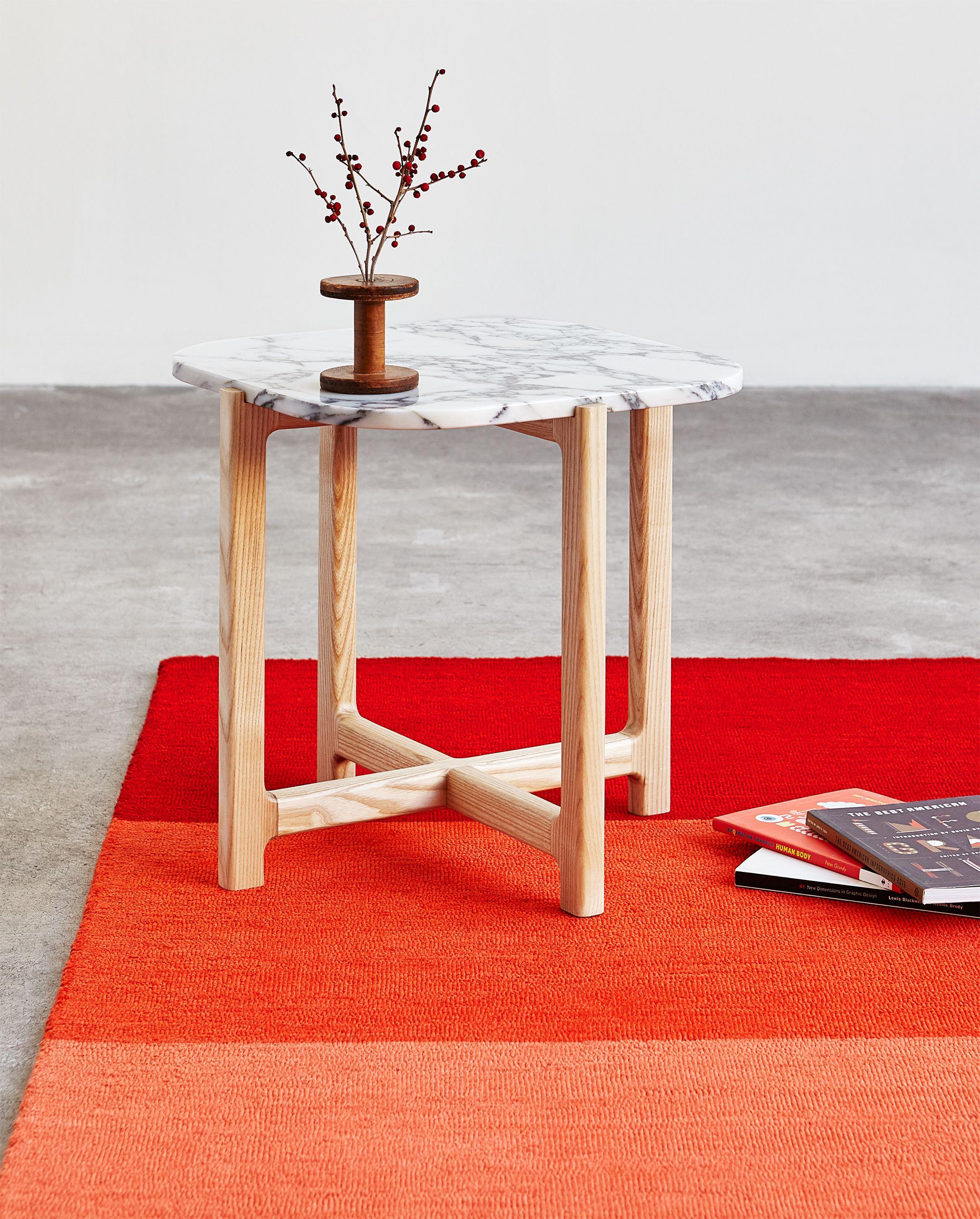 Quarry end table gradient rug bianca ember gus modern