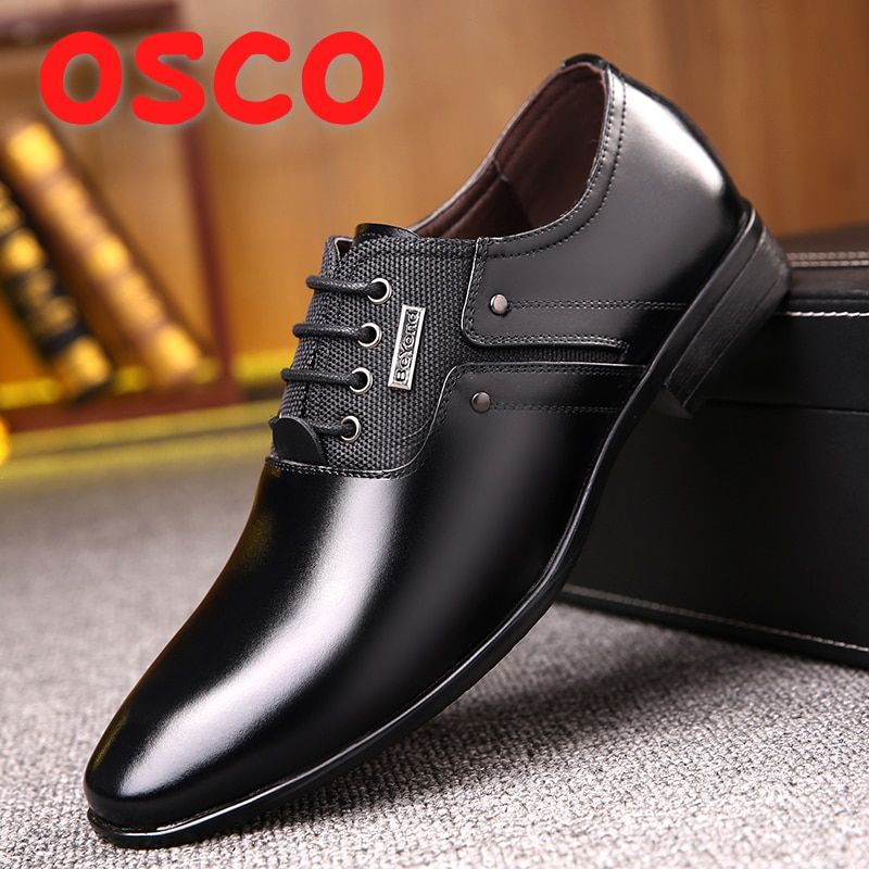 Men Luxury Leather Dress Shoes Kjole sko, skinn kjole  Dress shoes, Leather dress