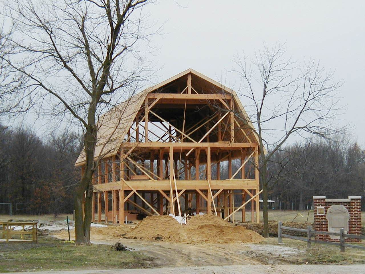 Best Gambrel Barn Frame Gambrel Barn Barn House Gambrel Roof 400 x 300