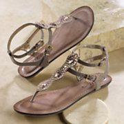 double strap wavy sandal by midnight velvet