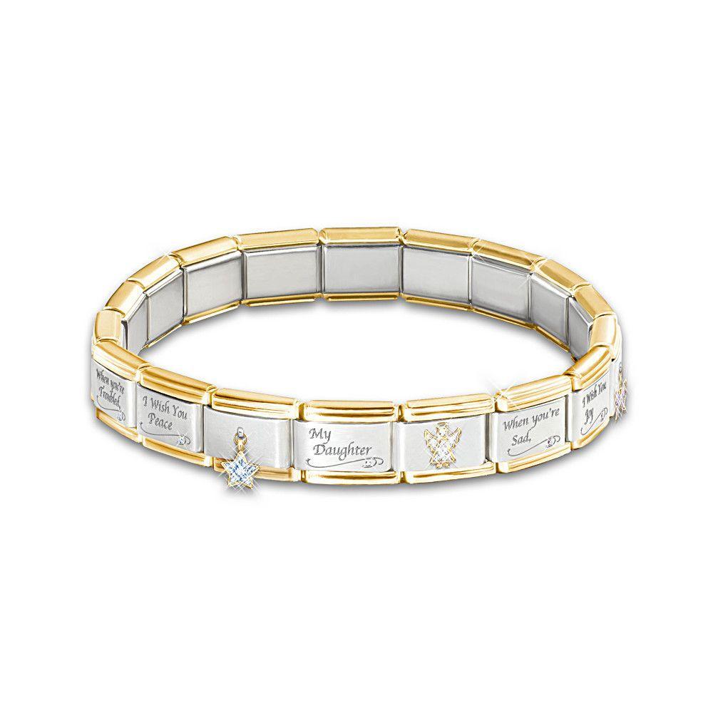 Italian Charm Bracelet Brands: Daughter Italian Charm Bracelet