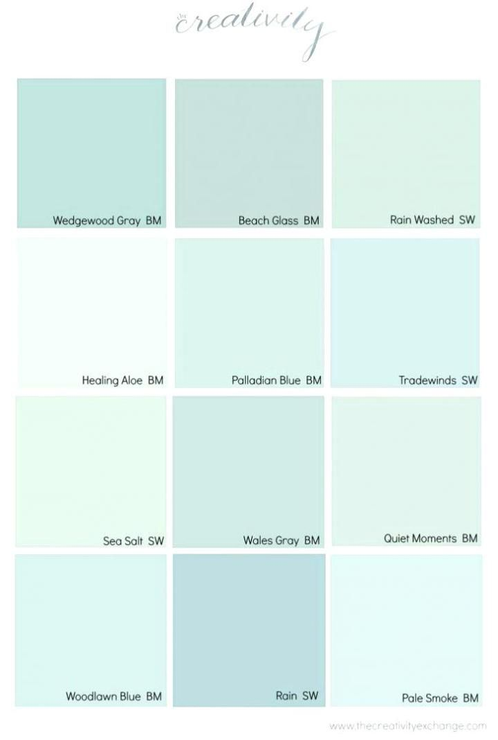 Coastal Paint Color Schemes Inspired from the Beach images