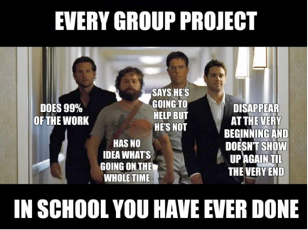 Funny Memes Of Work : And this is why i hated group work as a student and rarely grade