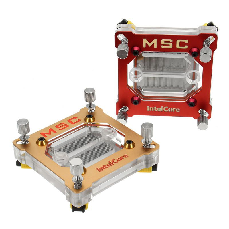 Us 24 99 90 2 X 90 2 X 41 3mm Cpu Water Cooling Fan Block For