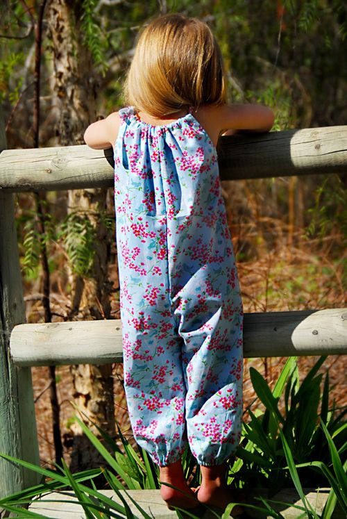 0dd7b8ccfb7c SUMMER ROMPER PDF Sewing Pattern   Tutorial