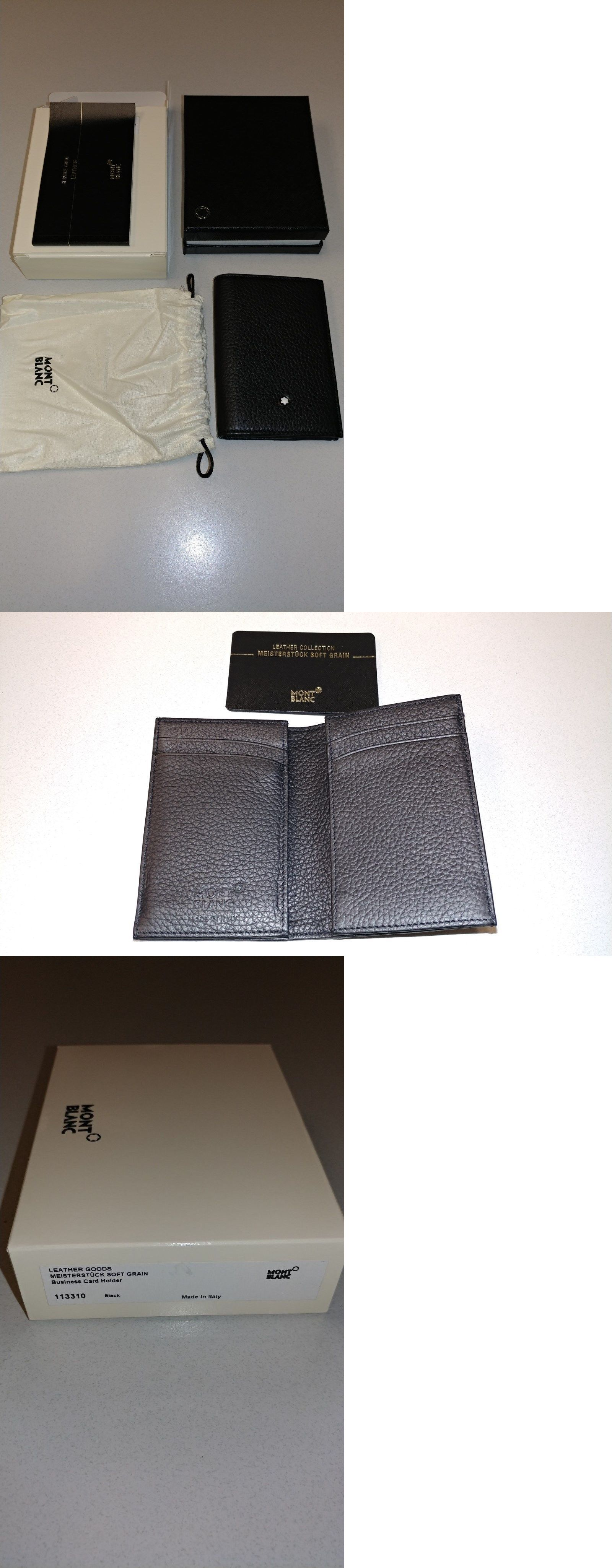 Business and Credit Card Cases 105860: Montblanc Business Card ...