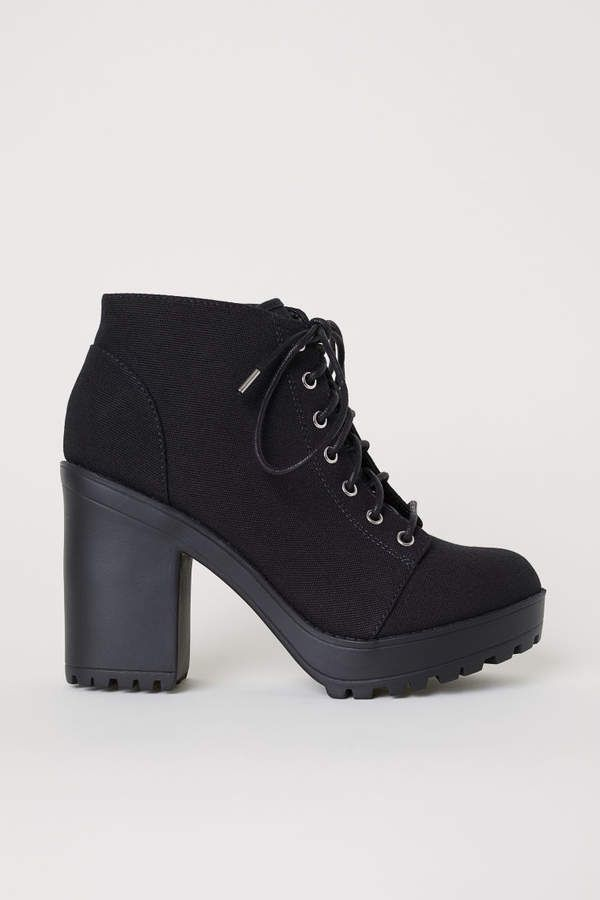 Boots, Timberland boots, Platform ankle