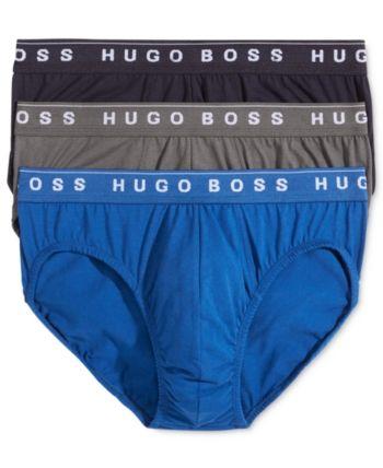 ac3322d8faa3 Boss Men's Underwear, 3 Pack Cotton Mini Briefs - Black L in 2019 ...