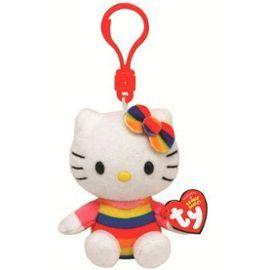 Porte-Clés Hello Kitty Rainbow