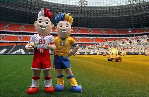 Euro 2012. Slavek & Slavko