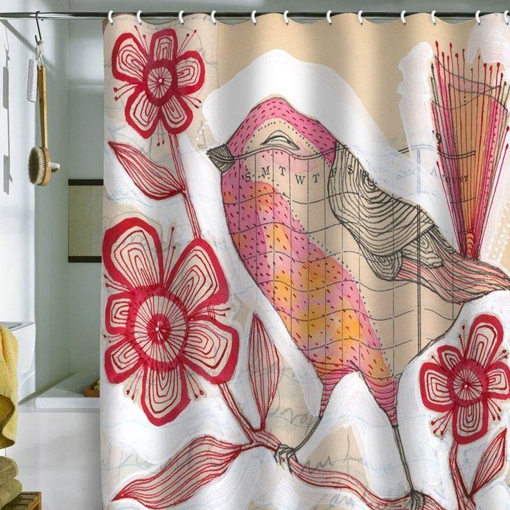 Deny Designs Cori Dantini Vibrant Crayon Shower Curtain 89 00
