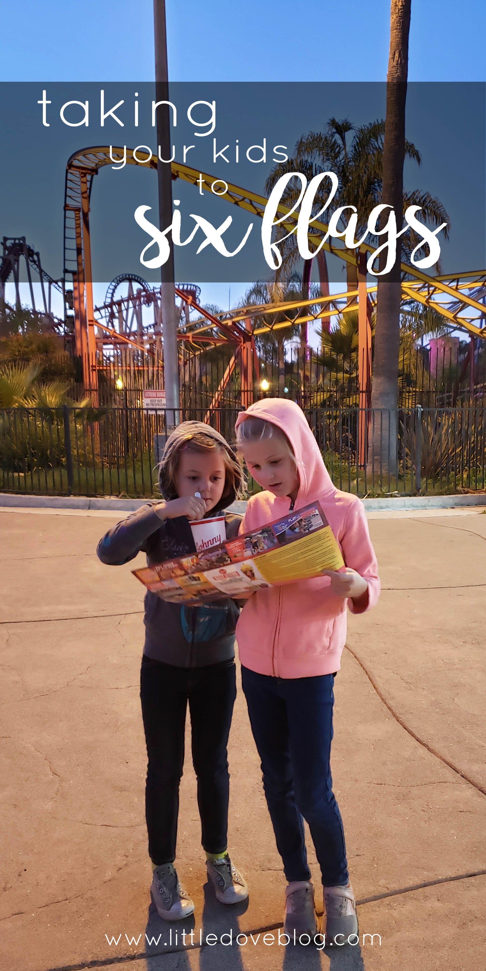 The Best California Six Flags Park For Your Family Little Dove Blog Six Flags Theme Park Beach Cruise