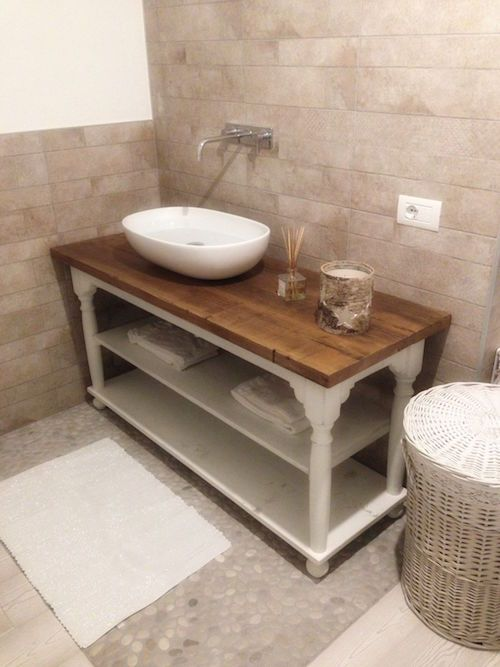 idea bagno shabby chic , charme en blanc, mobile bagno | Dream Home ...