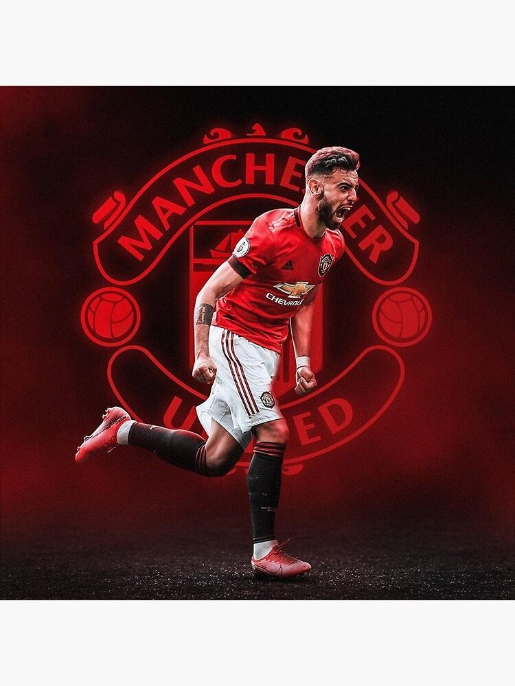 Wallpaper Fernandes Art Poster By Henricjoa Manchester United Team Manchester United Logo Manchester United Art Cool manchester united player wallpaper