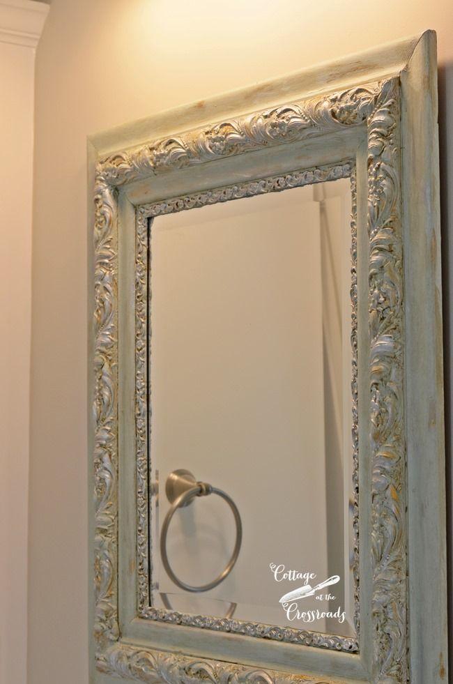 DIY Painted Mirror Frames | Pinterest | Paint mirror frames, Painted ...
