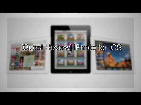 [Guest Review] iPhoto for iOS